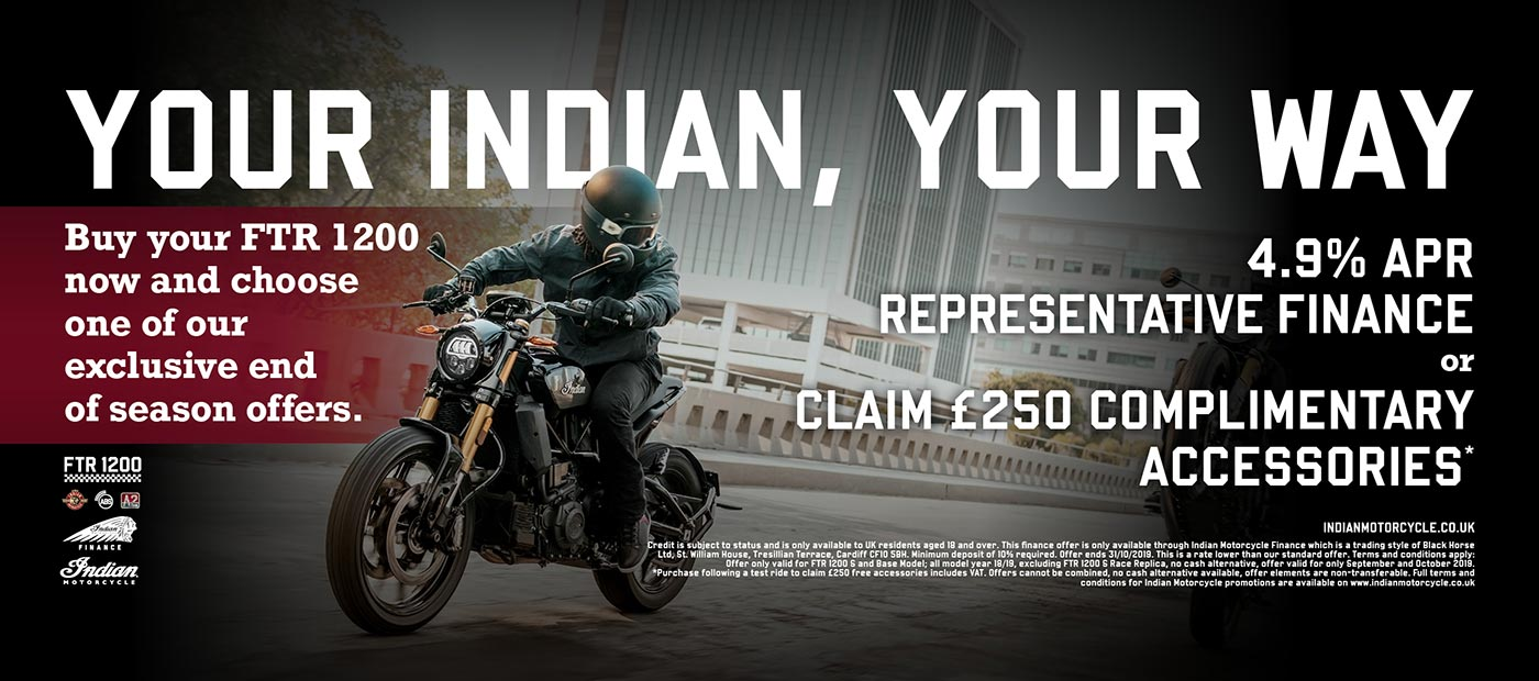 Your Indian, Your Way - FTR 1200